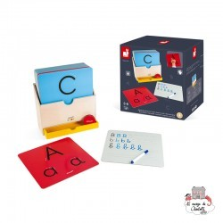 Learn HOW TO WRITE - JAN-J05074 - Janod - Numbers and Letters - Le Nuage de Charlotte