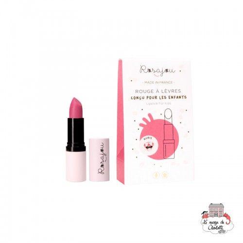 Lipstick Rubis - ROS-RRAL01 - Rosajou - Maquillage et cosmétique fantaisie pour enfants - Le Nuage de Charlotte