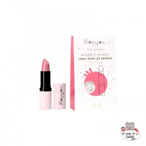 Lipstick Ballerine - ROS-RRAL02 - Rosajou - Maquillage et cosmétique fantaisie pour enfants - Le Nuage de Charlotte