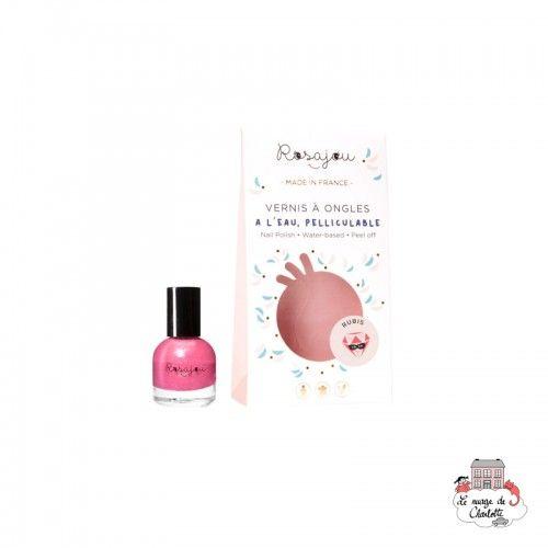 """Nail Polish """"Rubis"""" - ROS-RVAO01 - Rosajou - Maquillage et cosmétique fantaisie pour enfants - Le Nuage de Charlotte"""