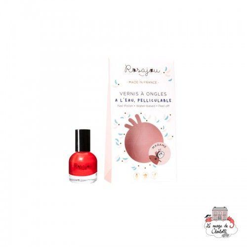 """Nail Polish """"Madame"""" - ROS-RVAO06 - Rosajou - Maquillage et cosmétique fantaisie pour enfants - Le Nuage de Charlotte"""