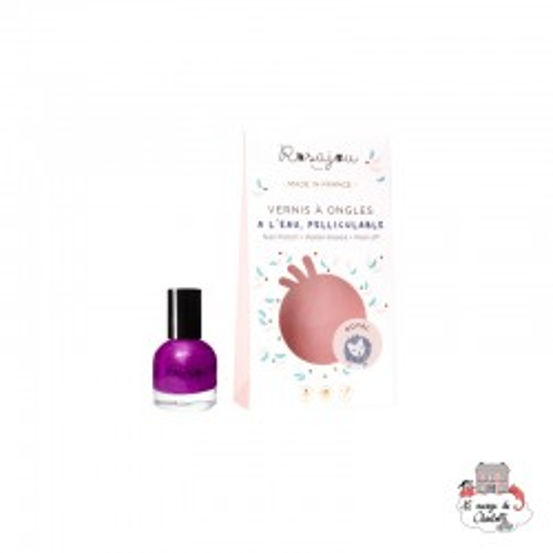 Purple nail polish ROYAL - ROS-RVAO14 - Rosajou - Maquillage et cosmétique fantaisie pour enfants - Le Nuage de Charlotte