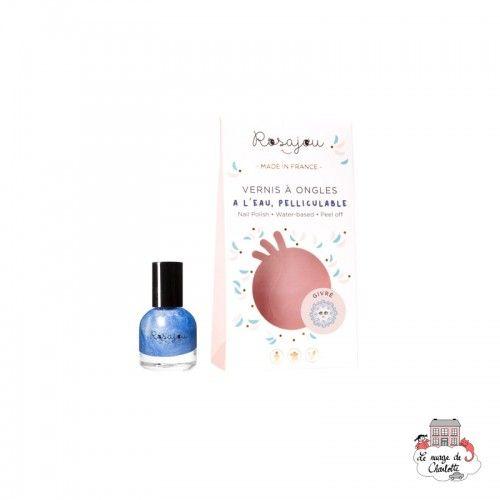 """Nail Polish """"Givré"""" - ROS-RVAO15 - Rosajou - Maquillage et cosmétique fantaisie pour enfants - Le Nuage de Charlotte"""