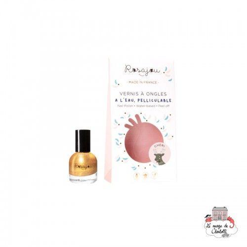 """Nail Polish """"Chéri"""" - ROS-RVAO16 - Rosajou - Maquillage et cosmétique fantaisie pour enfants - Le Nuage de Charlotte"""