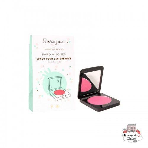 Pink blush - ROS-RPC02 - Rosajou - Maquillage et cosmétique fantaisie pour enfants - Le Nuage de Charlotte