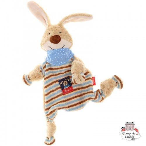 Blue Rabbit Comforter - SIG-47893 - sigikid - Baby Comforter - Le Nuage de Charlotte