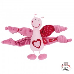 Pink Butterfly Rattle - SIG-49897 - sigikid - Rattles - Le Nuage de Charlotte