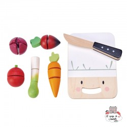 Mini Chef Chopping Board - TLT-8274 - Tender Leaf Toys - Kitchen, Household and Dinnerware Set - Le Nuage de Charlotte