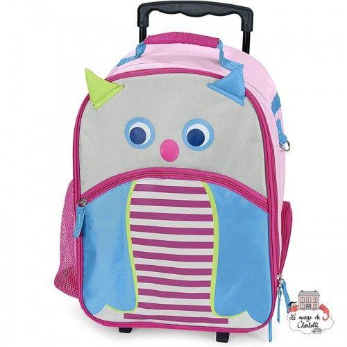 Emilie Owl Trolley - STE-9651621 - Sterntaler - Suitcases - Le Nuage de Charlotte