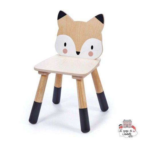 Forest Fox Chair - TLT-8813 - Tender Leaf Toys - Children's furniture - Le Nuage de Charlotte