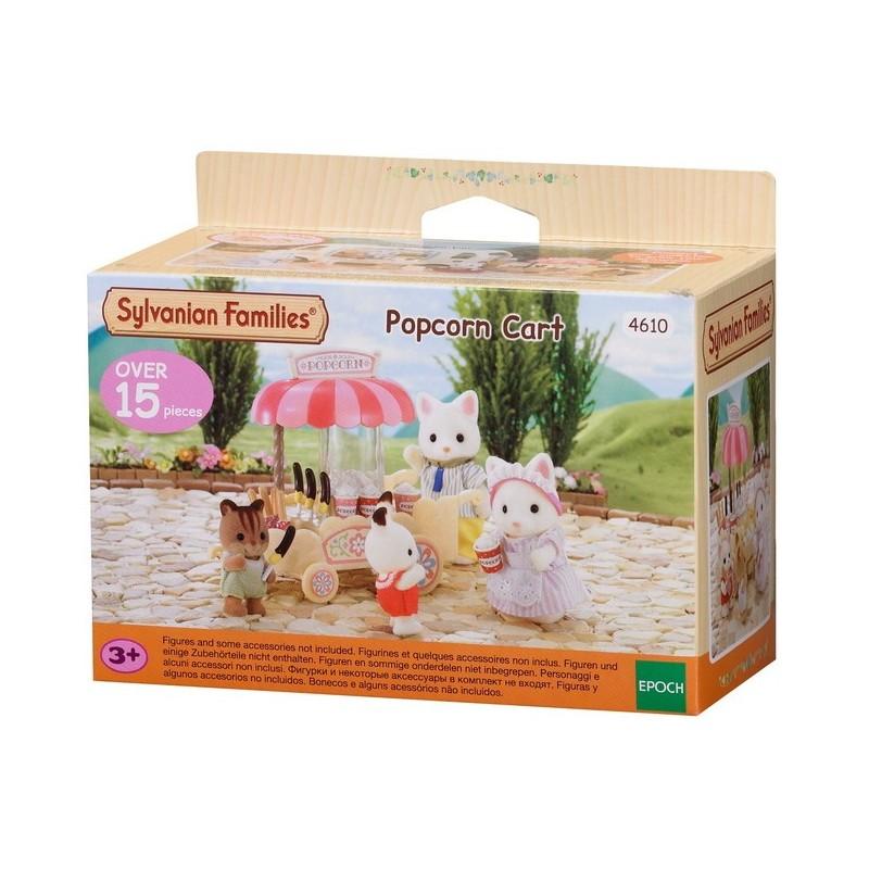 Popcorn Cart - EPO-2809 - Epoch - Sylvanian Families - Le Nuage de Charlotte