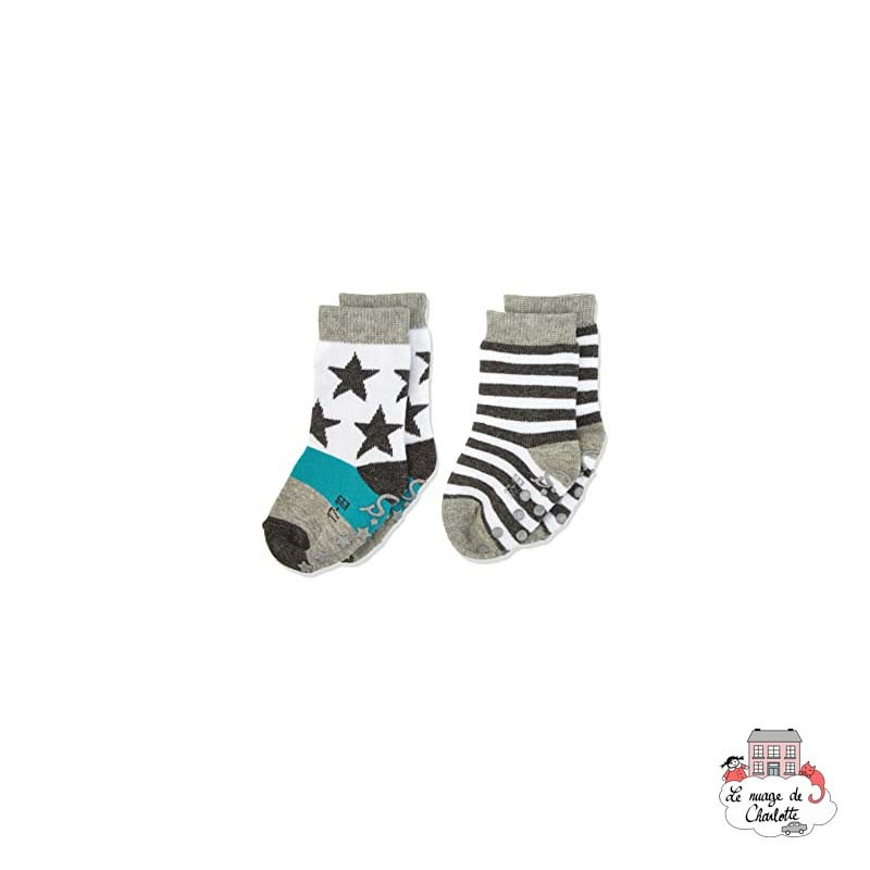 Non-slip sole socks - STE-8001720-592 - Sterntaler - Slippers, Socks & Tights - Le Nuage de Charlotte
