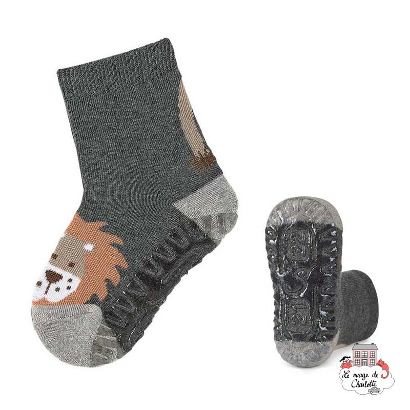 Non-slip sole socks - STE-8031708-592 - Sterntaler - Slippers, Socks & Tights - Le Nuage de Charlotte