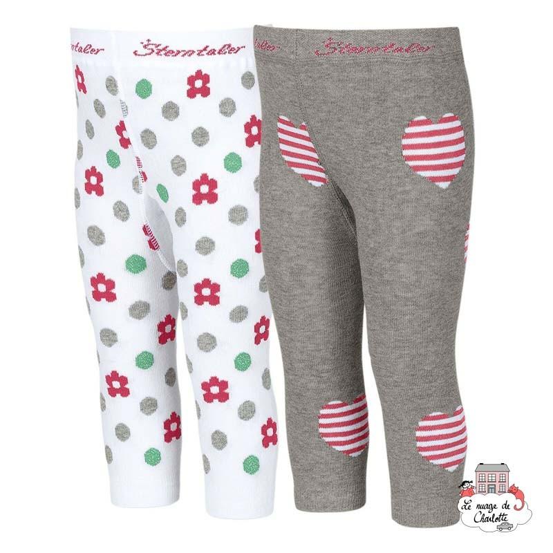 Leggings (2pairs) - STE-8661721-542 - Sterntaler - Slippers, Socks & Tights - Le Nuage de Charlotte