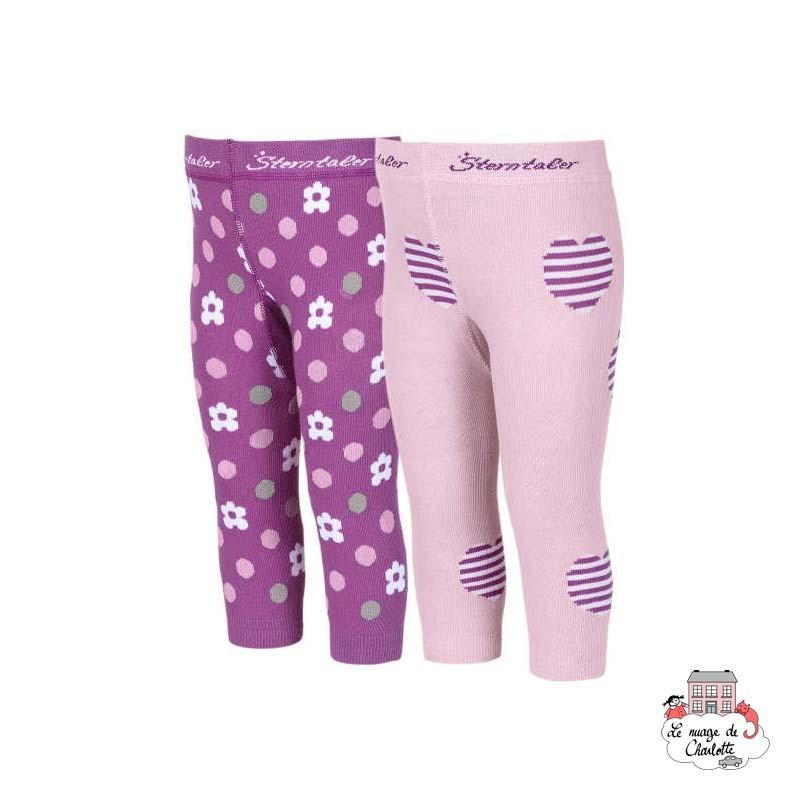 Leggings (2pairs) - STE-8661721-715 - Sterntaler - Slippers, Socks & Tights - Le Nuage de Charlotte