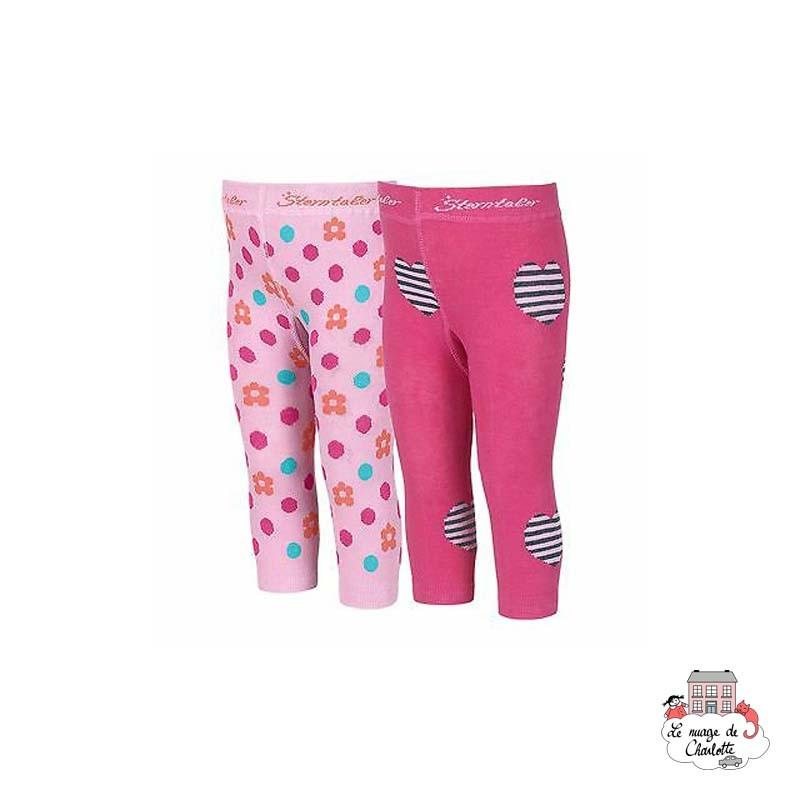 Leggings (2pairs) - STE-8661721-745 - Sterntaler - Slippers, Socks & Tights - Le Nuage de Charlotte
