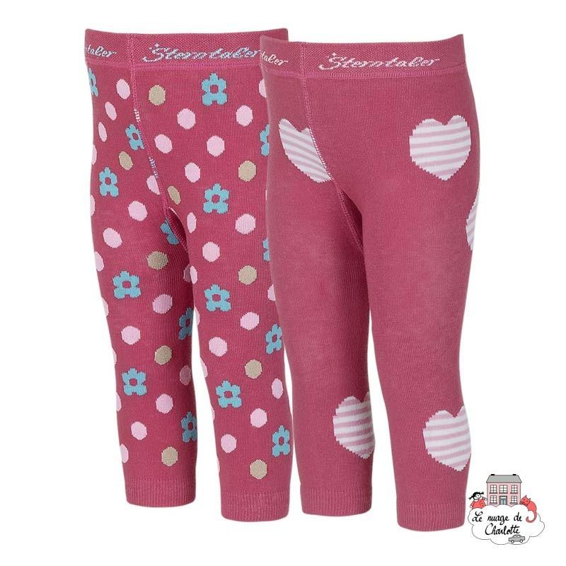 Leggings (2pairs) - STE-8661721-817 - Sterntaler - Slippers, Socks & Tights - Le Nuage de Charlotte