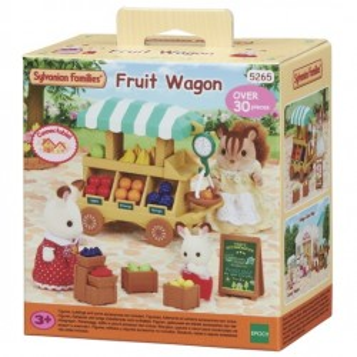 Fruit Wagon - EPO-5265 - Epoch Traumwiesen - Sylvanian Families - Le Nuage de Charlotte