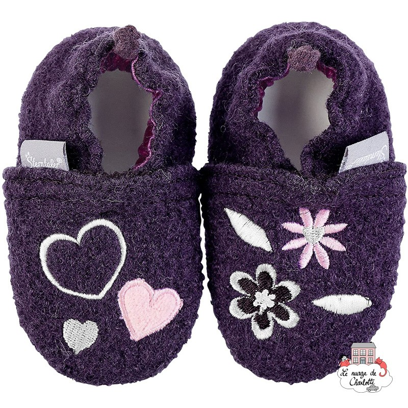Sterntaler Slippers - Children 0-24 - STE-5301752 - Sterntaler - Slippers, Socks & Tights - Le Nuage de Charlotte