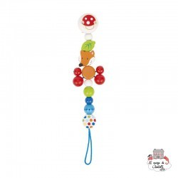 Soother chain Fox - HEI-764330 - Heimess - Soother Chain - Le Nuage de Charlotte