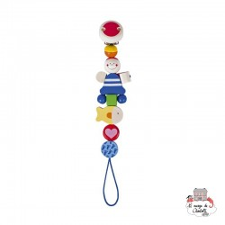 Soother chain Pirate - HEI-734800 - Heimess - Soother Chain - Le Nuage de Charlotte