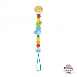 Soother chain Bird - HEI-736040 - Heimess - Soother Chain - Le Nuage de Charlotte