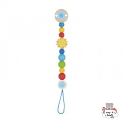 Soother chain Sun - HEI-736340 - Heimess - Soother Chain - Le Nuage de Charlotte