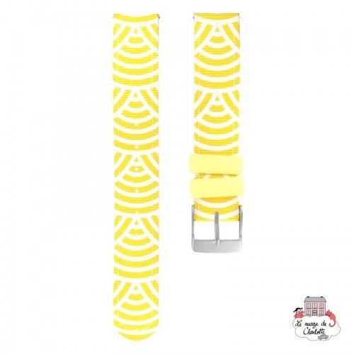 Twistiti Strap - Sunshine (silicone) - TWI-WS40 - Twistiti - Watches - Le Nuage de Charlotte