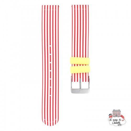 Twistiti Strap - Red Sailor (silicone) - TWI-WS39 - Twistiti - Watches - Le Nuage de Charlotte