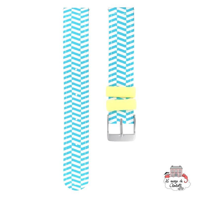 Twistiti Strap - Ocean (silicone) - TWI-WS41 - Twistiti - Watches - Le Nuage de Charlotte