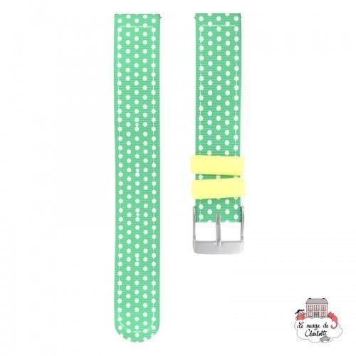 Twistiti Strap - Watermelon (silicone) - TWI-WS43 - Twistiti - Watches - Le Nuage de Charlotte