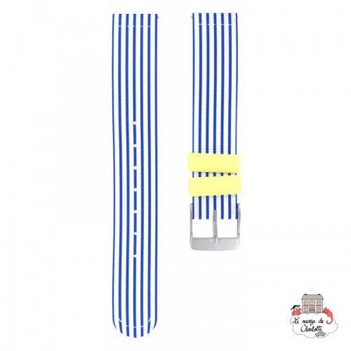 Twistiti Strap - Blue Sailor (silicone) - TWI-WS42 - Twistiti - Watches - Le Nuage de Charlotte