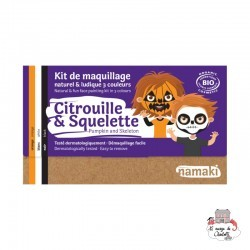 Makeup Kit 3 colors Pumpkin & Skeleton - NAM-NA110043 - Namaki - Disguises - Le Nuage de Charlotte
