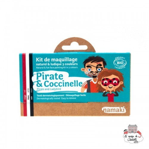 Pirate & Ladybug 3 color makeup kit - NAM-NA110003 - Namaki - Disguises - Le Nuage de Charlotte