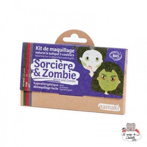 Witch & Zombie 3-Color Makeup Kit - NAM-NA110008 - Namaki - Disguises - Le Nuage de Charlotte