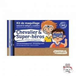 Knight & Superhero 3-color makeup kit - NAM-NA110042 - Namaki - Disguises - Le Nuage de Charlotte