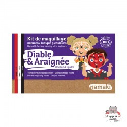 Devil & Spider 3 color makeup kit - NAM-NA110044 - Namaki - Disguises - Le Nuage de Charlotte