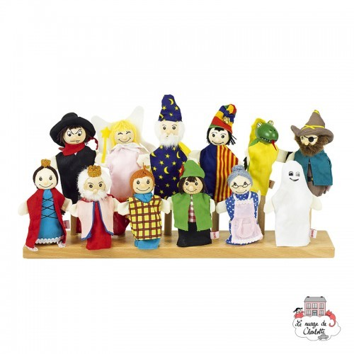 Assortment of 12 finger puppets - GOK-SO401 - Goki - Fingerpuppets - Le Nuage de Charlotte