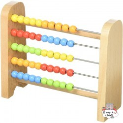 Abacus - GOK-58511 - Goki - Numbers and Letters - Le Nuage de Charlotte