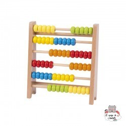 Abacus - GOK-58518 - Goki - Numbers and Letters - Le Nuage de Charlotte