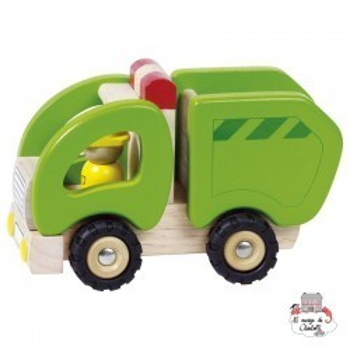 Camion-poubelle - GOK-55964 - Goki - Voitures, camions, etc. - Le Nuage de Charlotte