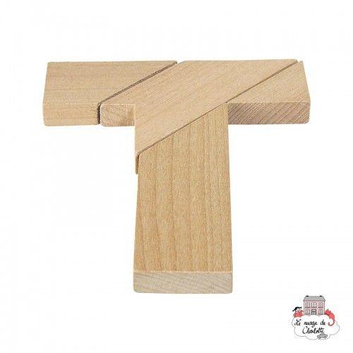Puzzle - The letter T - GOK-HS006 - Goki - Puzzle Games - Le Nuage de Charlotte