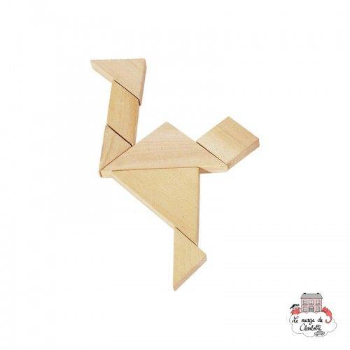 Puzzle - Tangram game - GOK-HS008 - Goki - Puzzle Games - Le Nuage de Charlotte