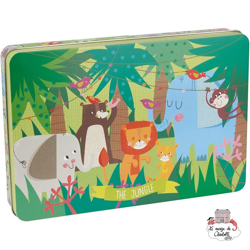 Puzzle Jungle - APL-16492 - APLI - For littles - Le Nuage de Charlotte
