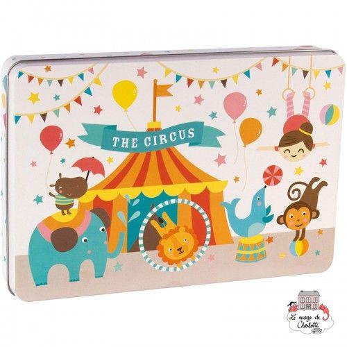 """Circus Puzzle """"By Lily Lane"""" - APL-14407 - APLI - For littles - Le Nuage de Charlotte"""