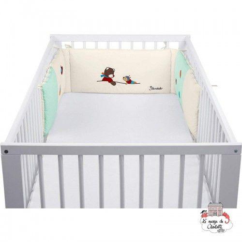 Bobby the Pooh cot bumper - STE-9301729 - Sterntaler - Bedding - Le Nuage de Charlotte