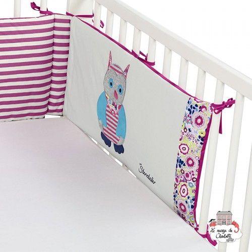 Emily the Owl cot bumper - STE-9301621 - Sterntaler - Bedding - Le Nuage de Charlotte