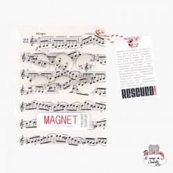 the Magnet Love Songs - RES-RES36a - Rescued! - Decorations - Le Nuage de Charlotte