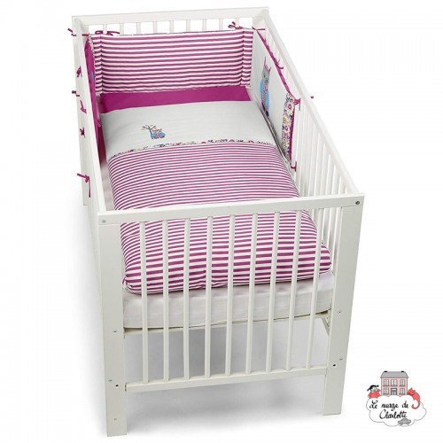 Emily the Owl Bed Bumper and Duvet Cover - STE-9241621 - Sterntaler - Bedding - Le Nuage de Charlotte
