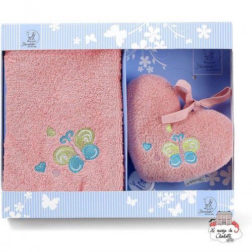 Peggy the Pony gift set - STE-9701732 - Sterntaler - Washcloths, towel, cape, etc ... - Le Nuage de Charlotte